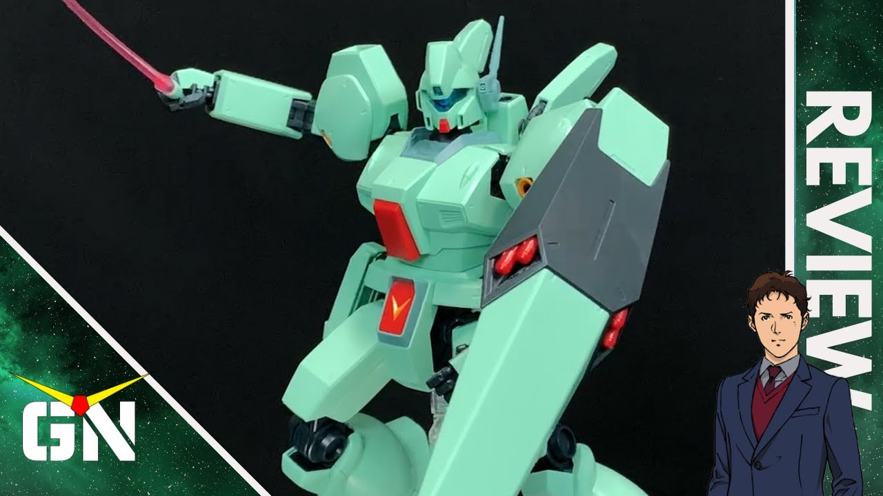 ''This Kit Is So Well Designed'' Mg 1/100 Jegan   REVIEW