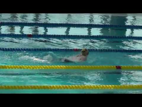 Lauren's 200m Fly at Cardiff International Pool