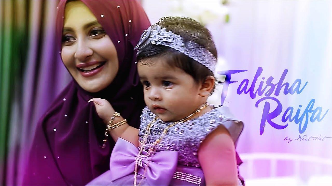 Indian Muslim Falisha Raifa Naming Aqiqah Ceremony Rizwan Fatimah Daughter