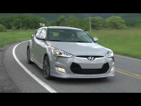 2013 Hyundai Veloster RE MIX Drive Time Review with Steve Hammes