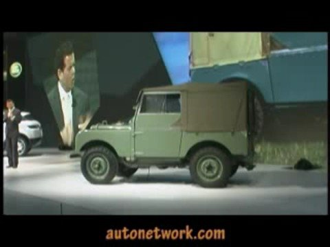 Lrx Concept Land Rover Detroit Auto Show 2008 Youtube