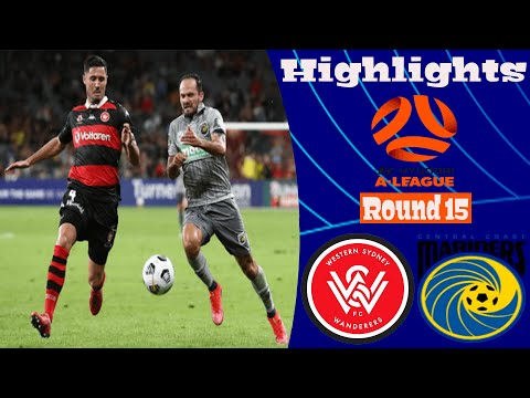 Western Sydney Wanderers Central Coast Goals And Highlights