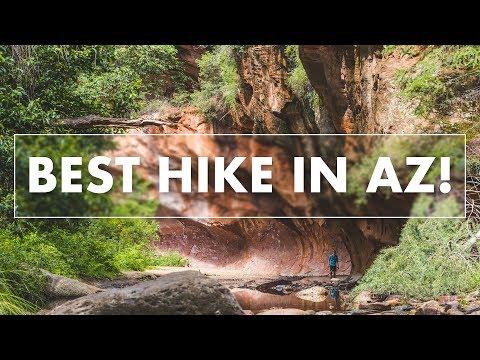 Arizona Hiking - Prettiest Hike in AZ!