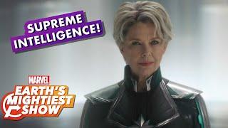 """Annette Bening Talks """"Supreme Intelligence"""" in Marvel Studios' Captain Marvel"""