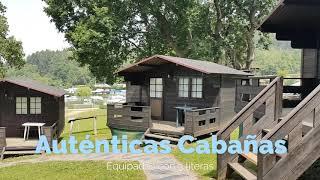 Cabañas en el Camping Deva Gijón