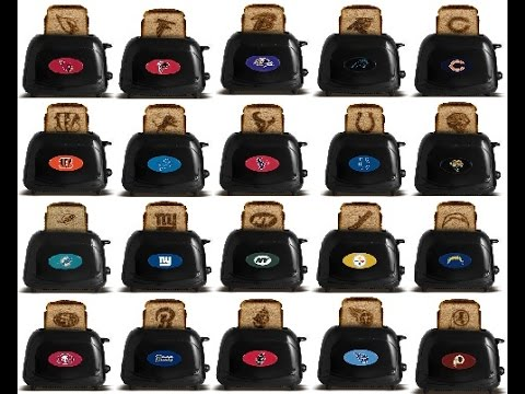 NFL Toasters