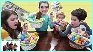 Easter Egg Hunt Treat Or Dare! / That YouTub3 Family