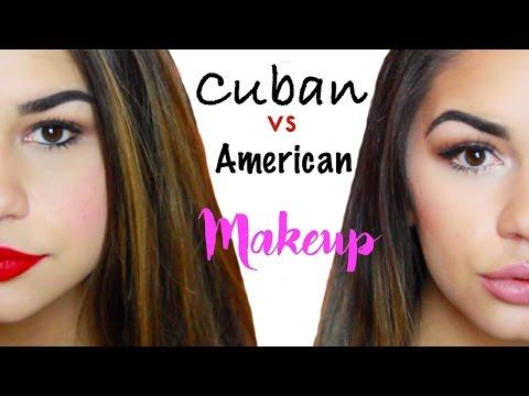 CUBAN VS AMERICAN MAKEUP | YESSI WATERS