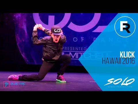Klick | SOLO Dance Competition Winner | World of Dance Hawaii 2016 | #WODHI16