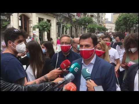 """Caballero: """"Ourense necesita un cambio político ao fronte da Xunta"""""""