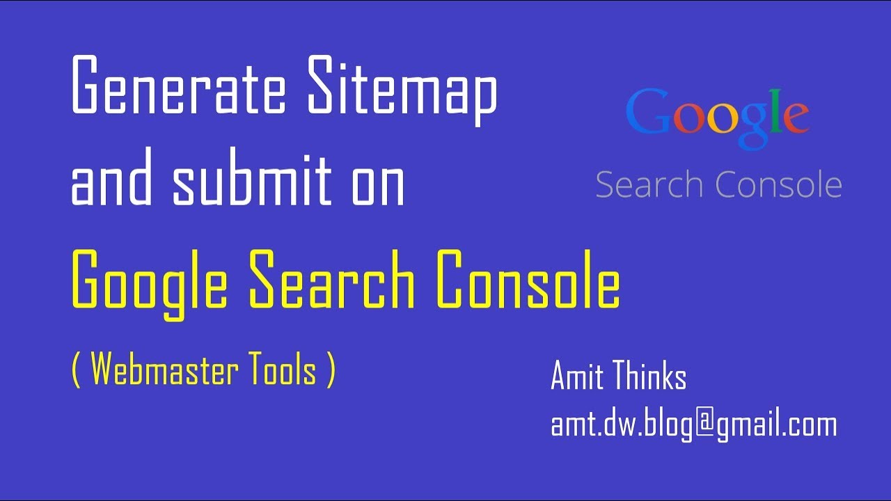 generate your website s sitemap and submit on google search console