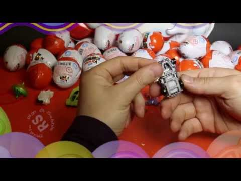 kinder surprise incredibles, 1 hour, madagascar, car, moto, disney and more and more!!!!!