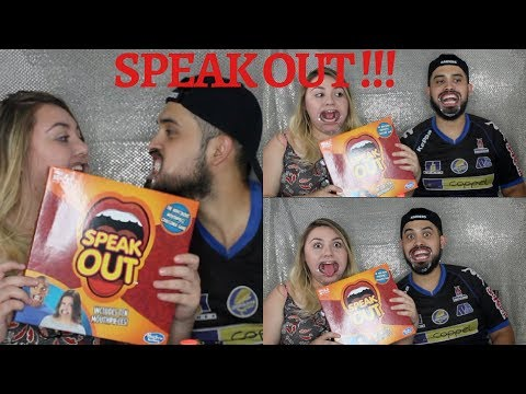 Speak Out Challenge! (MUST WATCH.... HILARIOUS)