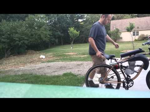 Case reed motorized bicycle