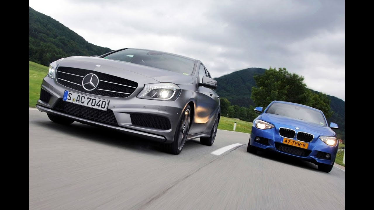 BMW 125i Vs. Mercedes Benz A 250 (English Subtitled)