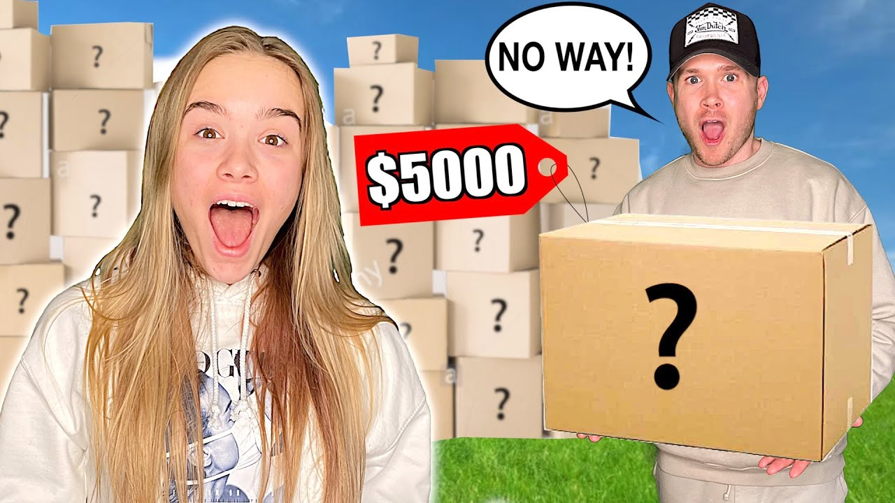 DID SHE PICK THE $5000 MYSTERY BOX?! This was SO INTENSE! 🤯