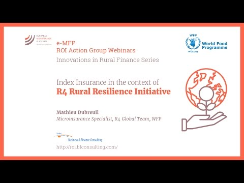 R4 Rural Resilience Initiative | Mathieu Dubreuil | e-MFP RO