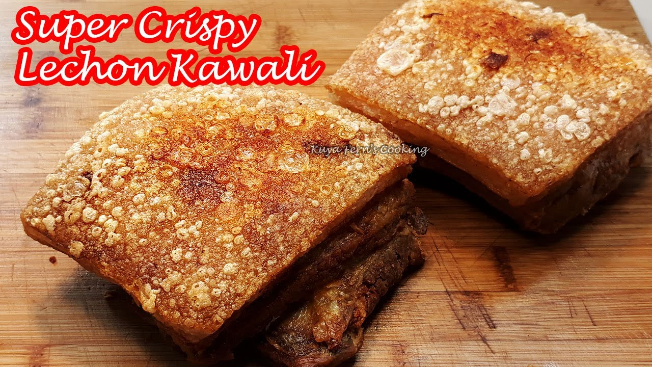 The Secret To Make Crispy Lechon Kawali Safely And Without Hot Oil Explosion Works Like Magic Youtube