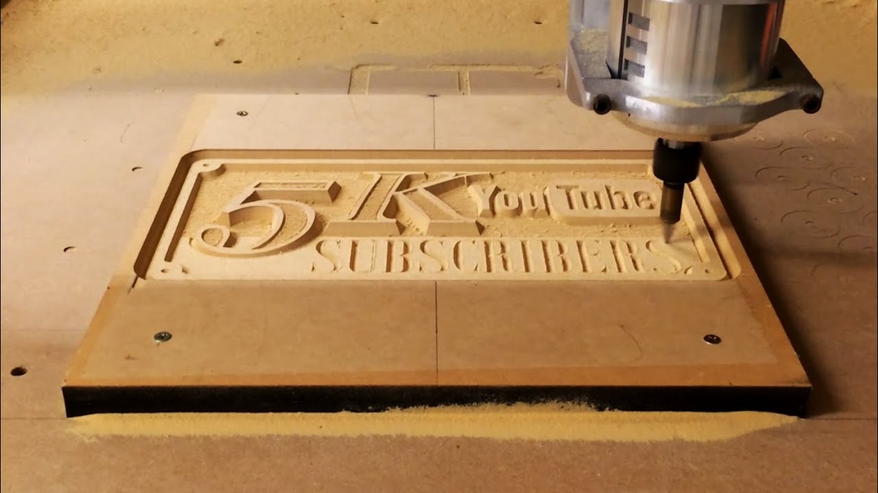 Casting an Aluminum Sign, Making the CNC Pattern | 5k P ...