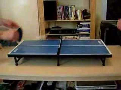 Super Mini Table Tennis   YouTube