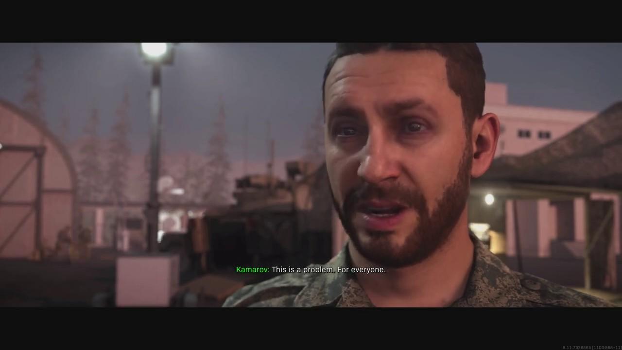 Call Of Duty Modern Warfare Laswell Nikolai Price Kamarov Unified Forces Cinematic 2019 Youtube