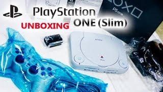 Sony PlayStation One Unboxing (Brand-New PS1 Slim) - HD 720P