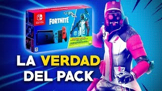 WHY NINTENDO REMOVED THE PACK OF NINTENDO FORTNITE SWITCH? IS IT THE BEST PACK OF SWITCH?