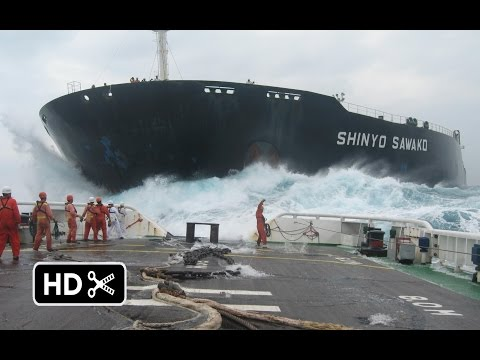 Cargo Ship stuck in sea wind