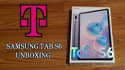 T-Mobile Galaxy Tab S6 Unboxing and Review