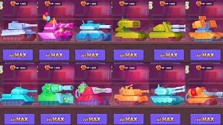 Tank Stars All Tanks MAX Level | 4K 2160p