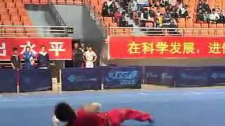 2010年全国武术套路锦标赛(传统)M12 003 男子地躺拳 顾君虎