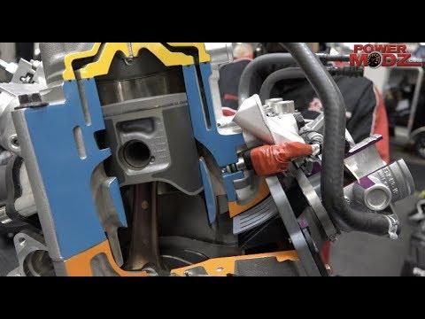 Polaris 850 Patriot Engine explained by a Polaris Engineer!
