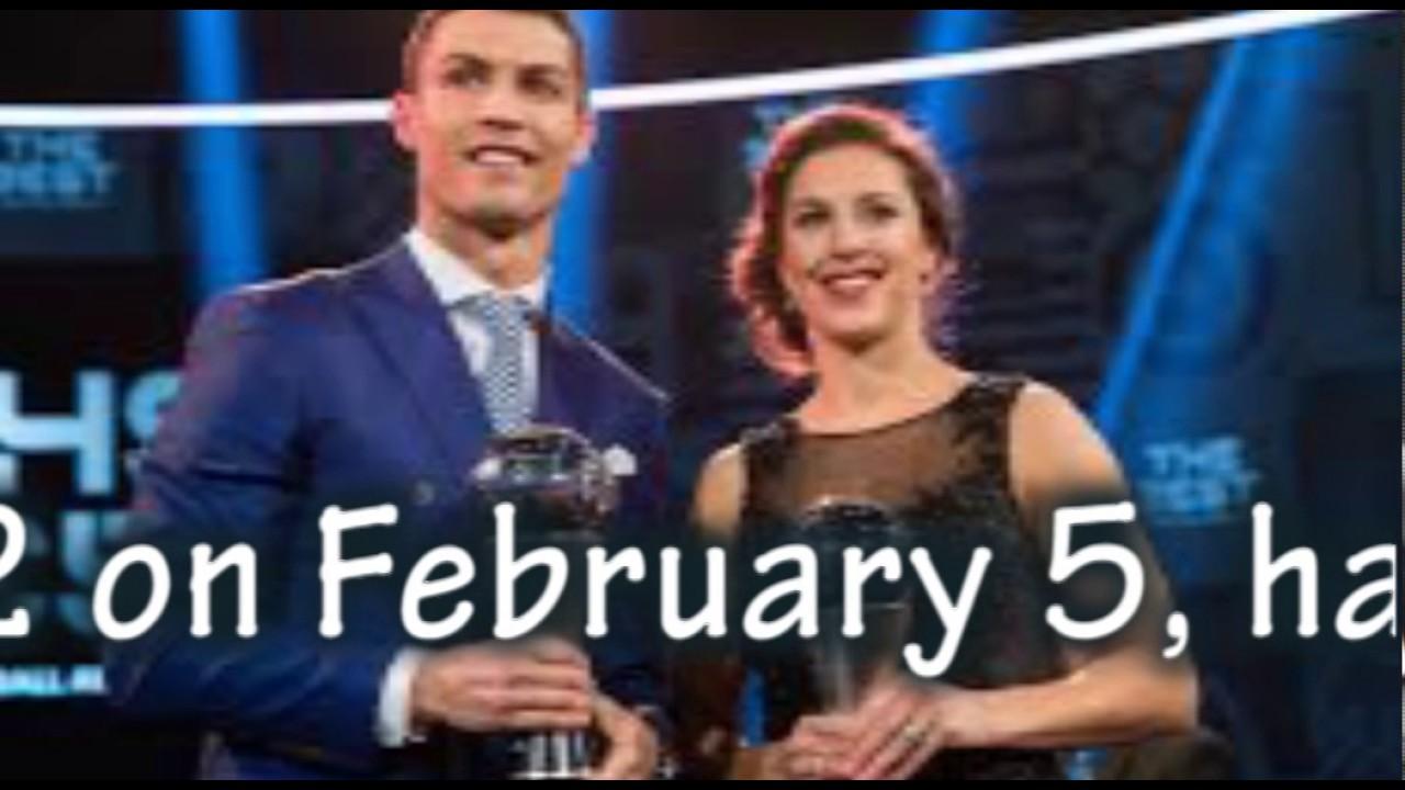 kauf verkauf aktuelles Styling 100% Zufriedenheitsgarantie Cristiano Ronaldo, Carli Lloyd win FIFA Best Player of the Year awards