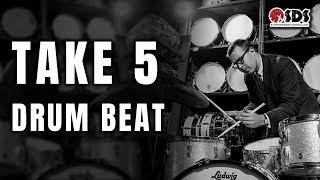Joe Morello Take 5 Drum Beat   DRUM LESSON