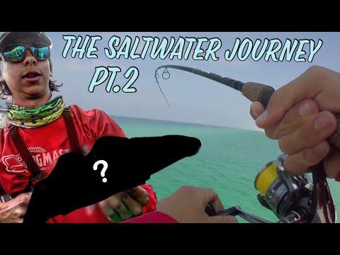 Panama City Beach Pier Fishing -- The Saltwater Journey pt.2