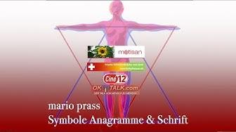 mario prass - Teil 1 Symbole, Anagramme & Schrift