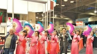 International Tourism Show - Taiwan Folk Song Dance 加拿大 台灣 滿山春色 歌舞曲