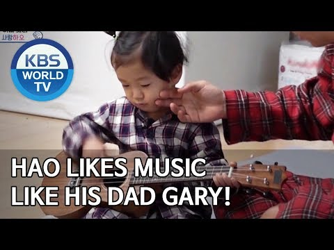 Hao likes music like his Dad Gary! [The Return of Superman/2020.02.08]