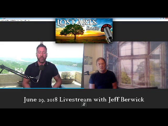 Lost Arts Radio Live Stream: Jeff Berwick Explains - Anarchy Is Not What You Think