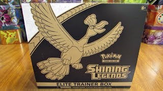 Shining Legends Elite Trainer Box Opening