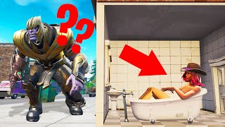 THANOS Plays HIDE AND SEEK In FORTNITE! (Avengers Endgame)