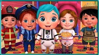 Jobs and Career Song +More Nursery Rhymes & Kids Songs -+The BEST SONGS For Children - Viola Kids