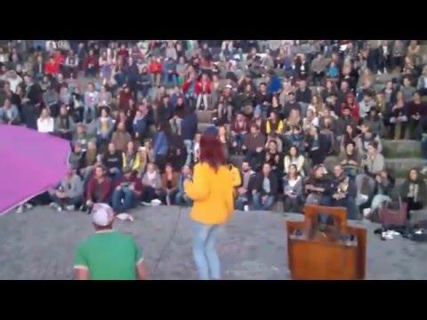 Daiana Lou - Respect (Aretha Franklin, Mauer Park Karaoke)