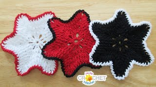 Around The Post Dishcloth Using Lion Brand Re-Up Recycled Cotton Yarn Crochet Pattern & Tutorial