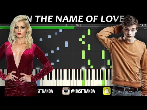 Martin Garrix - IN THE NAME OF LOVE (PIANO TUTORIAL)