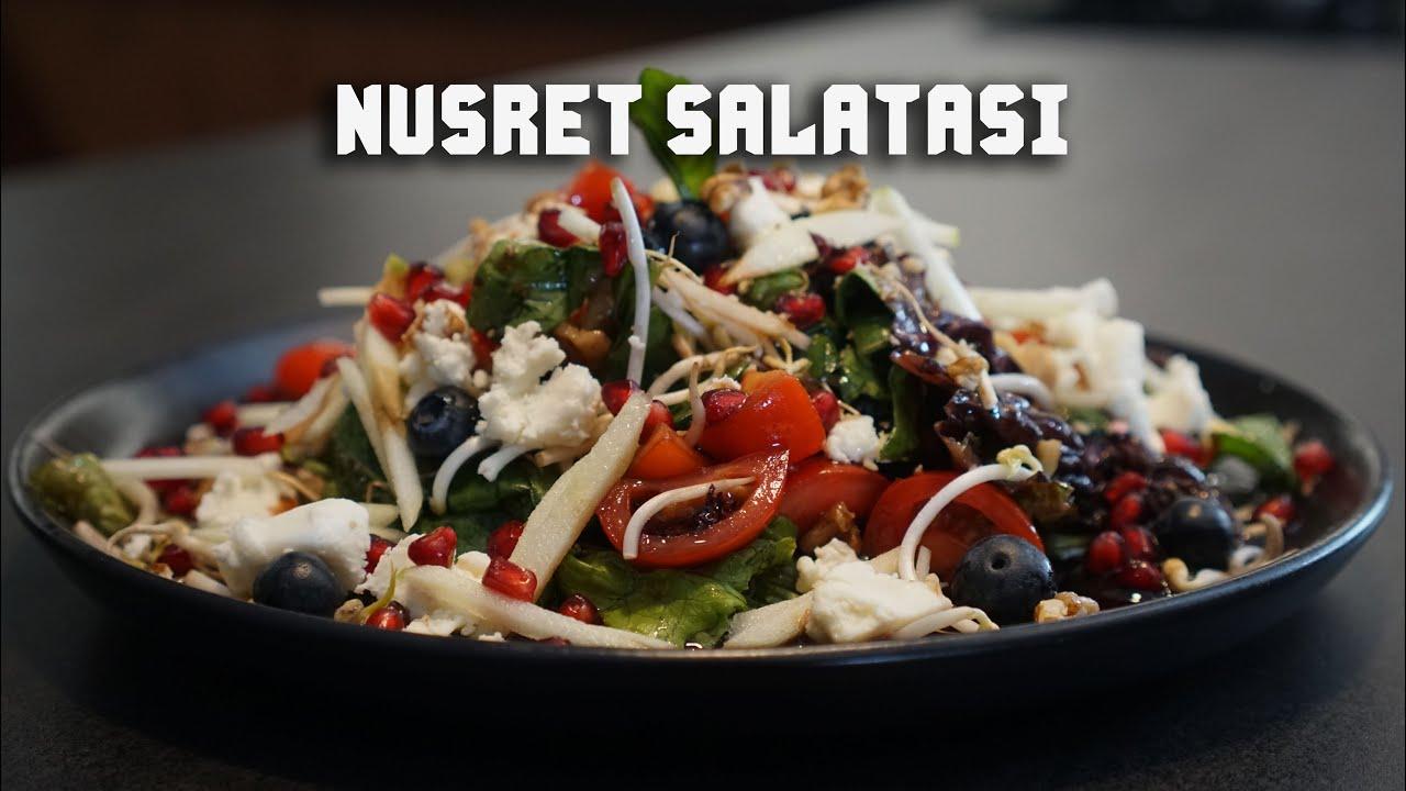 14,5 TL'ye Nusret Salatası Yaptık l Tulum Peynirli Salata