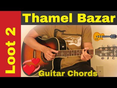 Thamel bazar - Guitar chords | First Thoughts