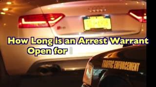 How Long is an Arrest Warrant Open for in New York?
