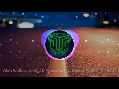 Alan Walker and Gigi D'Agostino - Faded L' Amour [ Mix] Petruz