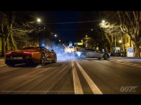 See The Supercars Of SPECTRE In Action
